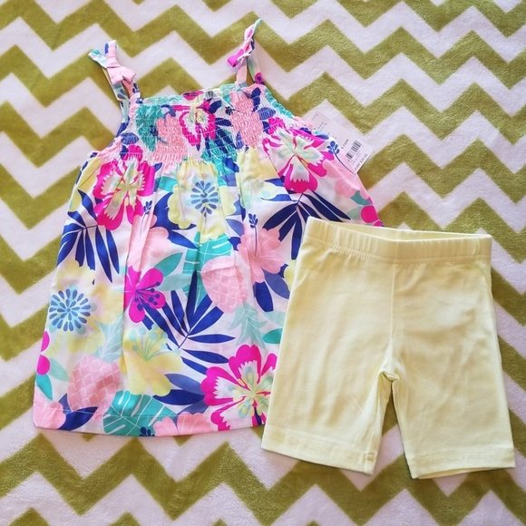 92ea6f966 Carter's Matching Sets | Carters 2piece Tropical Pineapple Outfit 2t ...